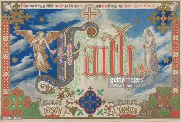 Faith, January 1, 1864. Artist Freeman Gage Delamotte.