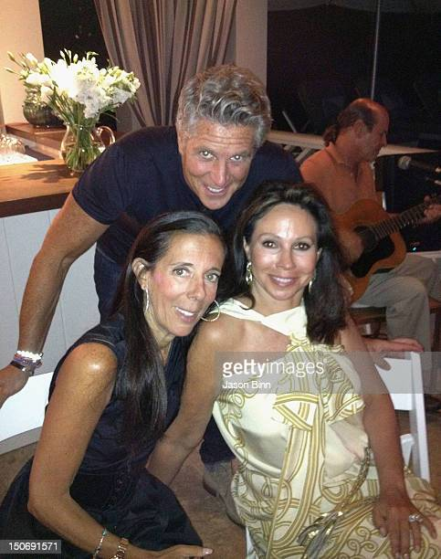 Faith Kates, co-founder and president of NEXT Modeling Agency , Donny Deutsch, American advertising executive and television personality and Lisa...