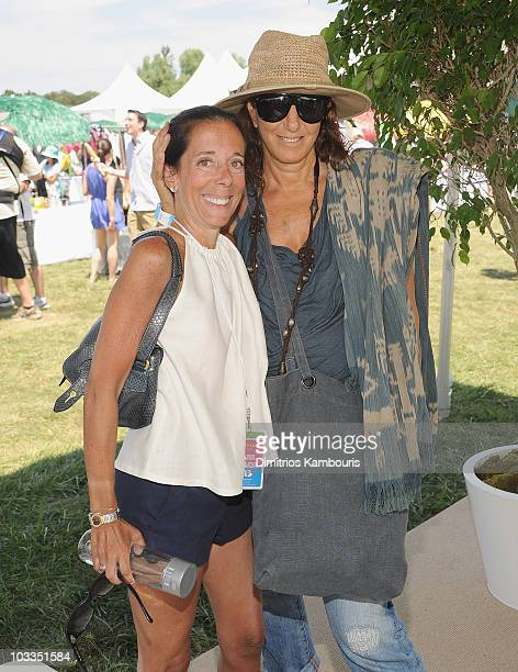 Faith Kates Kogan and Donna Karan attend Super Saturday 13 to Benefit Ovarian Cancer Research Fund hosted by InStyle Magazine at Nova's Ark Project...