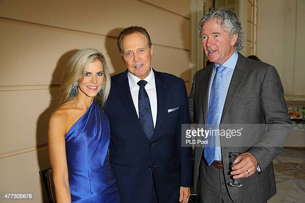 Faith Majors Actor Lee Majors and Actor Patrick Duffy attend the 55th Monte Carlo TV Festival Day 3 on June 15 2015 in MonteCarlo Monaco
