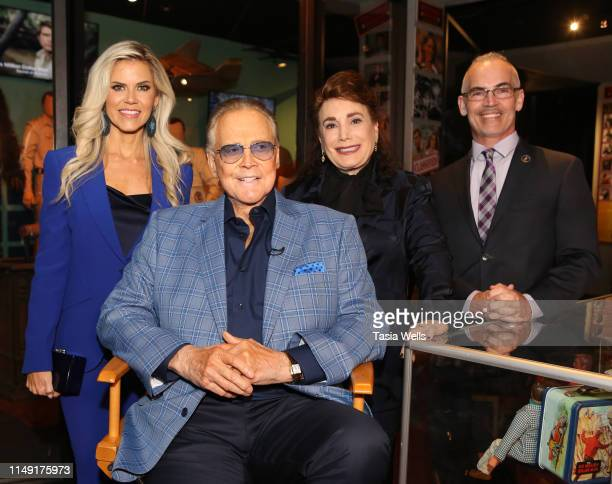 Faith Majors Lee Majors Donelle Dadigan and Mitch O'Farrell attend The Hollywood Museum Celebrates Batman's 80th Anniversary at The Hollywood Museum...