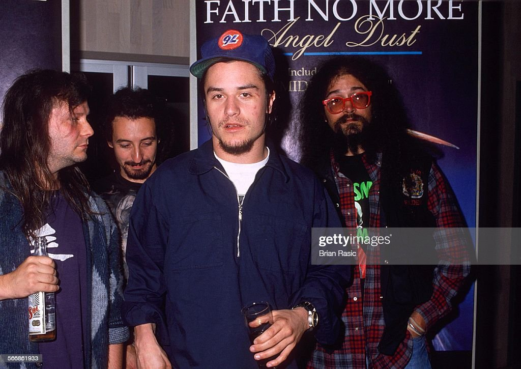 Faith No More - 1992 : News Photo