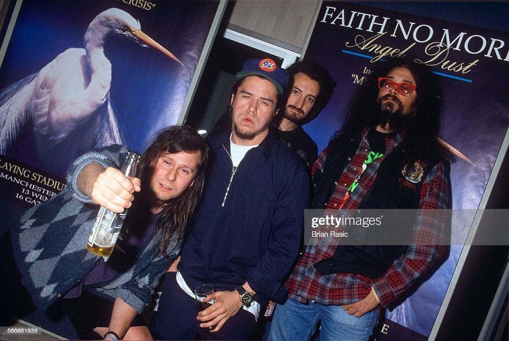 Faith No More - 1992 : News Photo