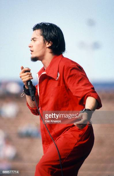 Faith No More Mike Patton Feyenoord Stadion Rotterdam Holland