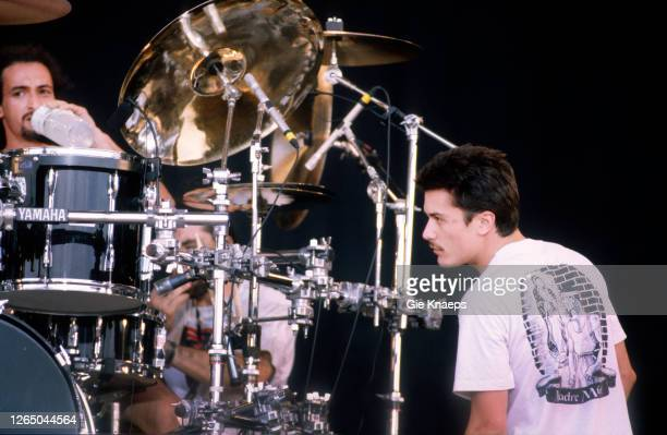 Faith No More, Mike Patton, Mike Bordin, Torhout/Werchter Festival, Werchter, Belgium, 4 July 1993.