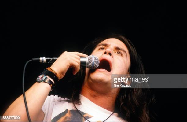 Faith No More, Mike Patton, Pukkelpop Festival, Sanicole Airfield, Hechtel, Belgium, .