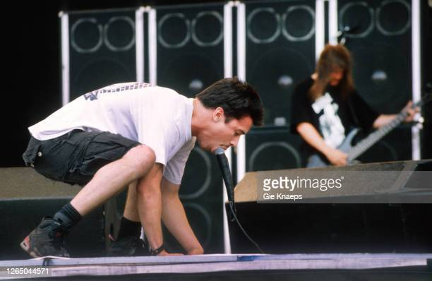 Faith No More, Mike Patton, Torhout/Werchter Festival, Werchter, Belgium, 4 July 1993.