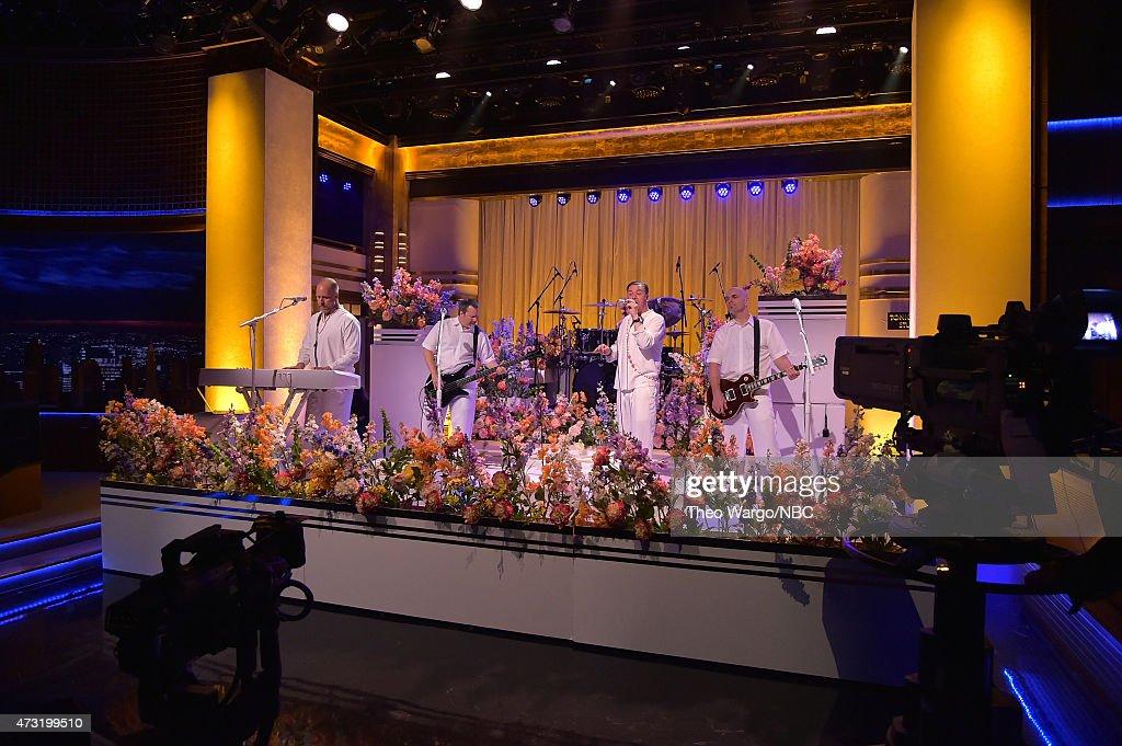 Faith No More Visits 'The Tonight Show Starring Jimmy Fallon' : Nachrichtenfoto