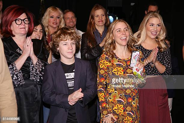 Faith Prince Baylee Littrell Rachel York Kerry Butler and Maggie McDowell during the Broadway Opening Night Actors' Equity Gypsy Robe Ceremony...