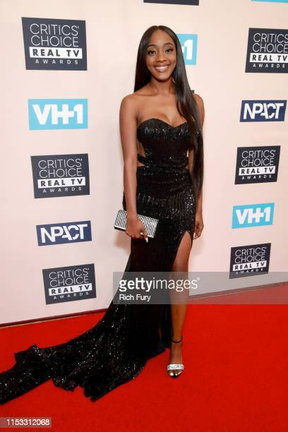 Faith Rodgers attends the Critics' Choice Real TV Awards at The Beverly Hilton Hotel on June 02 2019 in Beverly Hills California
