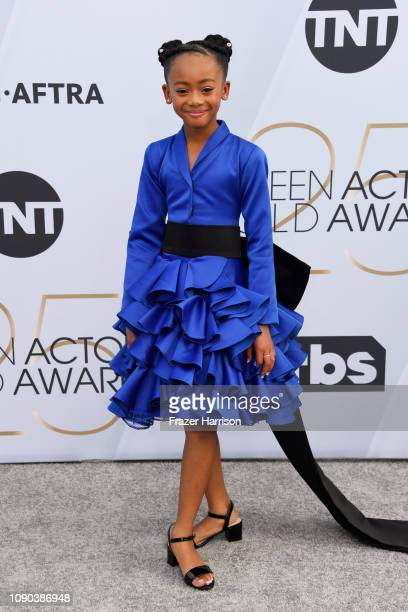 Faithe C Herman attends the 25th Annual Screen ActorsGuild Awards at The Shrine Auditorium on January 27 2019 in Los Angeles California