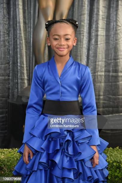 Faithe C Herman attends the 25th Annual Screen ActorsGuild Awards at The Shrine Auditorium on January 27 2019 in Los Angeles California 480595