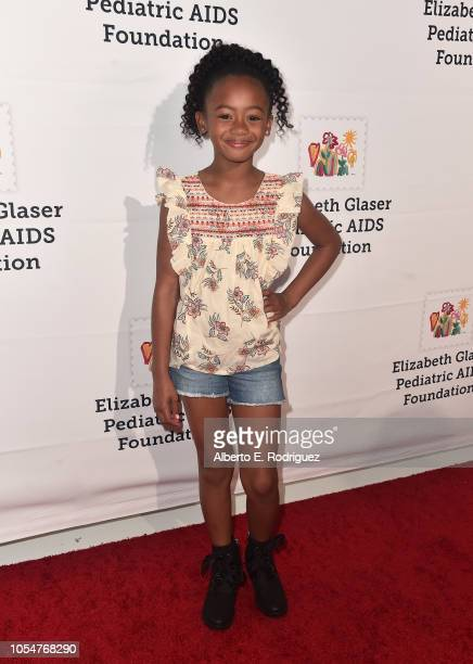 Faithe C Herman attends the Elizabeth Glaser Pediatric Aids Foundation's 30th Anniversary A Time For Heroes Family Festival at Smashbox Studios on...
