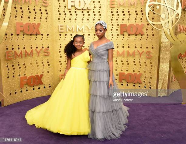 Faithe Herman and Eris Baker attend the 71st Emmy Awards at Microsoft Theater on September 22 2019 in Los Angeles California