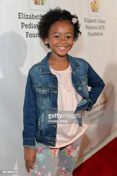 Faithe Herman at The Elizabeth Glaser Pediatric AIDS Foundation's 28th annual 'A Time For Heroes' family festival at Smashbox Studios on October 29...