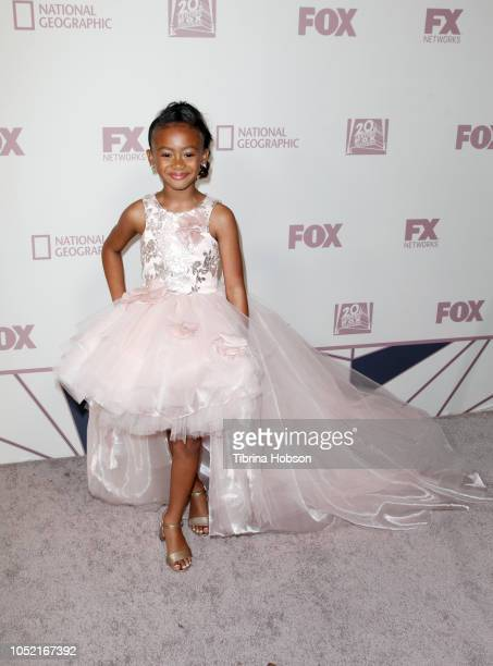Faithe Herman attends FOX Broadcasting Company FX National Geographic and 20th Century Fox Television 2018 Emmy Nominee Party at Vibiana on September...