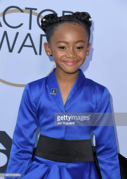 Faithe Herman attends the 25th Annual Screen ActorsGuild Awards at The Shrine Auditorium on January 27 2019 in Los Angeles California