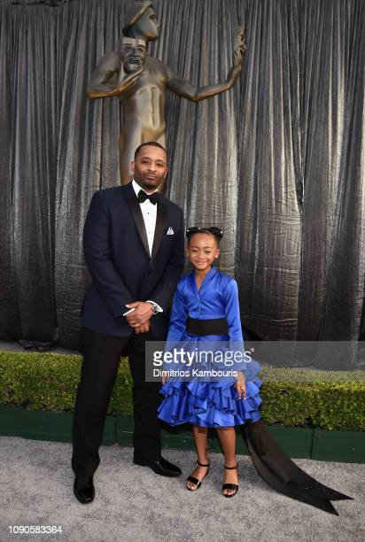 Faithe Herman attends the 25th Annual Screen ActorsGuild Awards at The Shrine Auditorium on January 27 2019 in Los Angeles California 480595