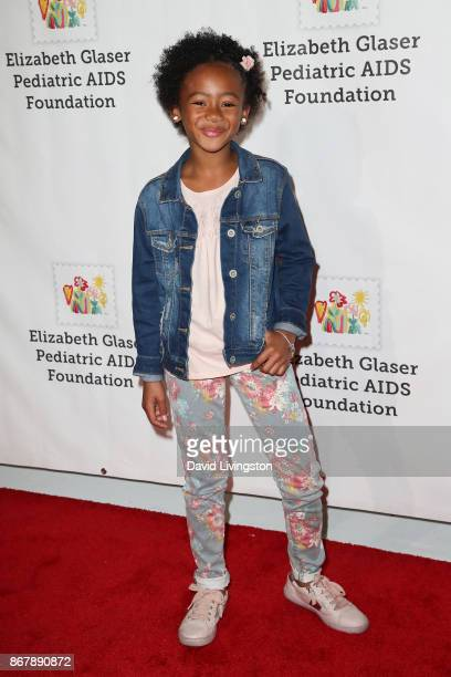 Faithe Herman attends the Elizabeth Glaser Pediatric AIDS Foundation's 28th Annual 'A Time For Heroes' Family Festival at Smashbox Studios on October...