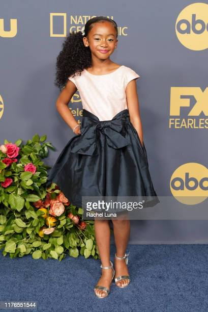 Faithe Herman attends the Walt Disney Television Emmy Party on September 22, 2019 in Los Angeles, California.