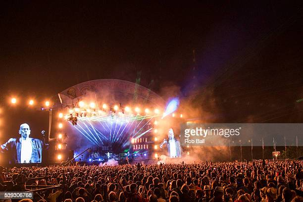 Faithless headline the Isle Of Wight Festival 2016 at Seaclose Park on June 10 2016 in Newport Isle of Wight