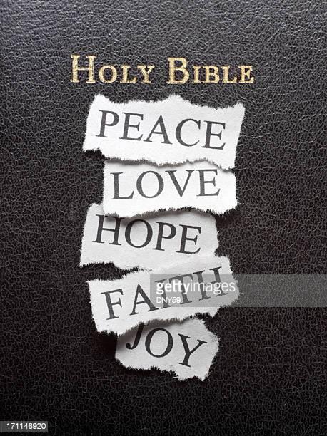 faith, a paz, amor, a esperança e alegria - cristianismo - fotografias e filmes do acervo