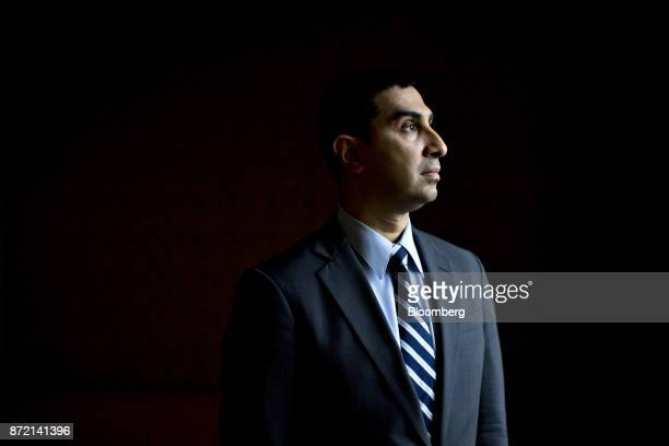 Faiz Shakir national political director with the American Civil Liberties Union stands for a photograph in Washington DC US on Tuesday Nov 7 2017 The...
