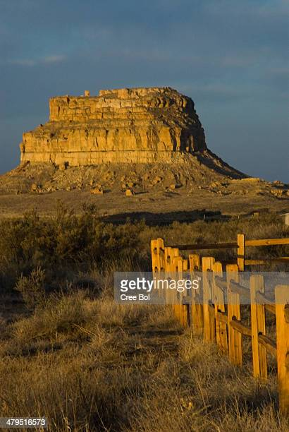 Fajada Butte at Chaco Canyon
