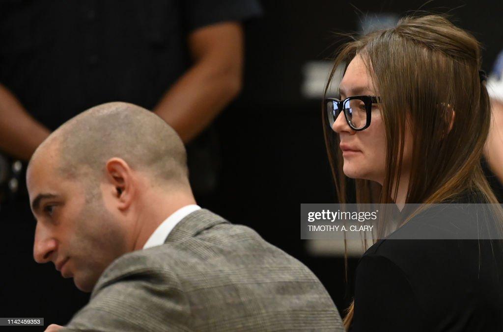 US-CRIME-JUSTICE-FRAUD-SOROKIN : News Photo