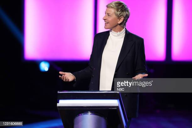 "Fake It 'Til You Make It Rain"" Episode 418 -- Pictured: Ellen DeGeneres --"