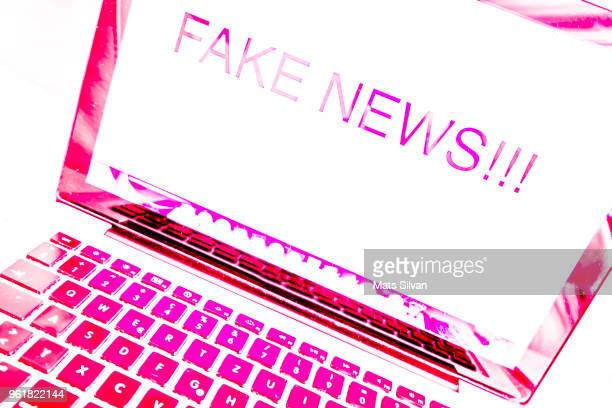 fake news!!! - fake stock pictures, royalty-free photos & images