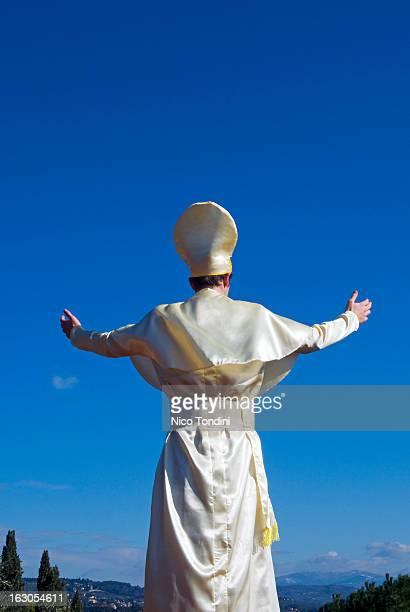 Fake Pope blessing