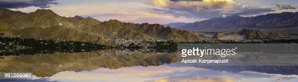 Fake Reflection Panorama at Leh Ladakh