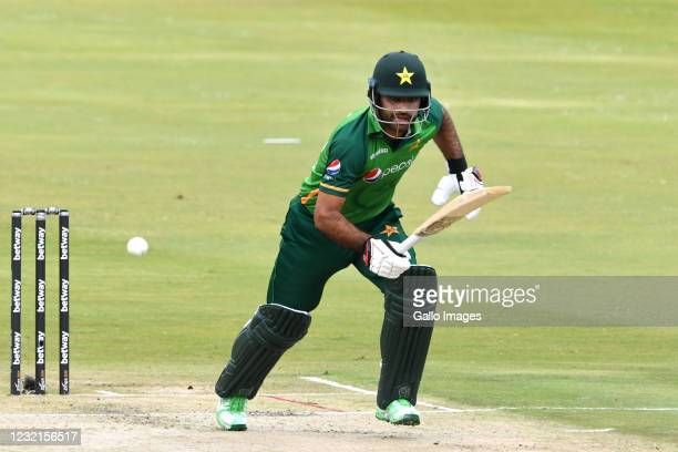 Fakhar Zaman of Pakistan during the 3rd Betway ODI between South Africa and Pakistan at SuperSport Park on April 07, 2021 in Pretoria, South Africa.