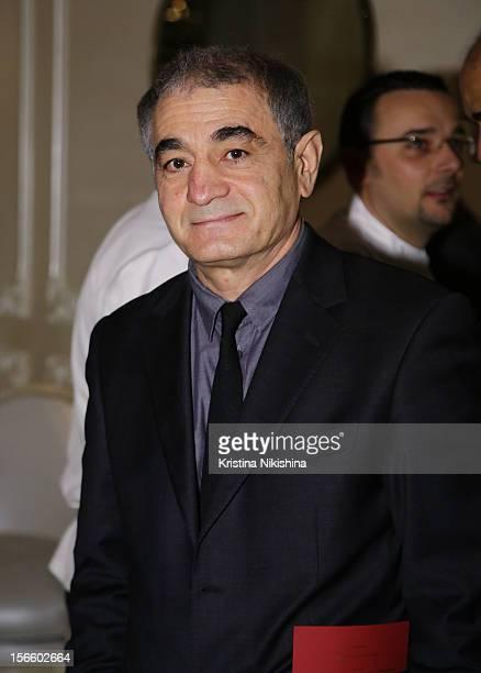 Fakhraddin Manafov arrives at the launch of the Four Seasons Hotel Baku on November 17 2012 in Baku Azerbaijan
