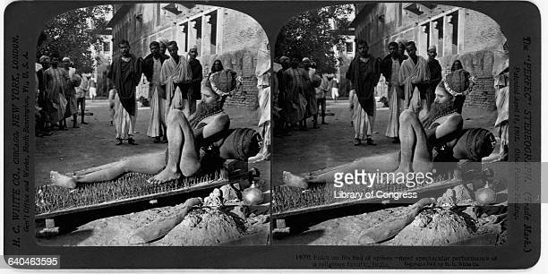Fakir on Bed of Spikes