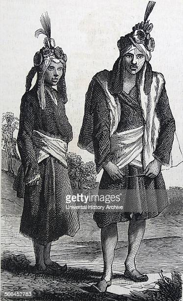Fakirs from Rajasthan, India, part of the British Empire in 1860