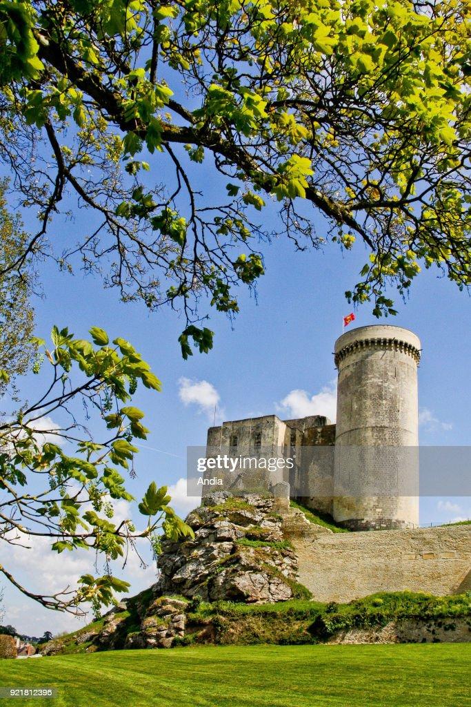 Chateau de Falaise, or Castle of William the Conqueror. : News Photo