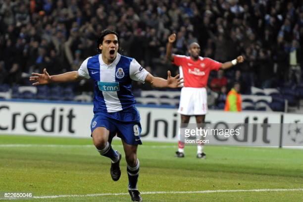 Falcao FC Porto / Arsenal 1/8 de Finale de la Ligue des Champions League Stade du Dragon