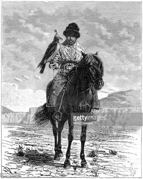 A falconer Turkestan 19th century