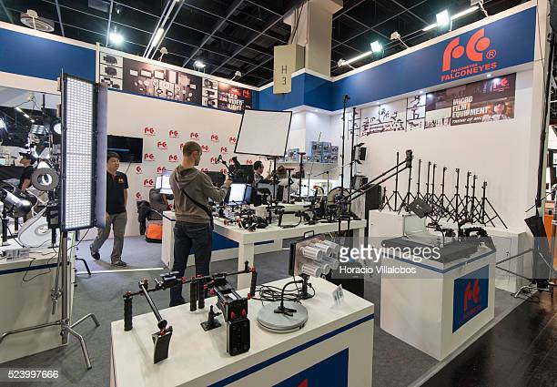 Falconeyes stand in Photokina 2014 in Cologne Germany 18 September 2014 Photokina the world's leading imaging fair brings together the industry trade...
