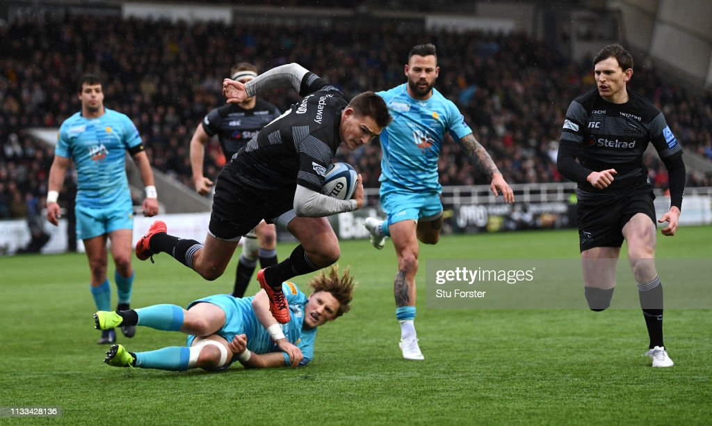 Newcastle Falcons v Worcester Warriors - Gallagher Premiership Rugby : News Photo