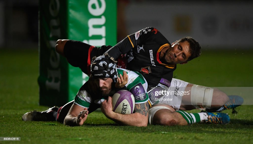 Dragons v Newcastle Falcons - European Rugby Challenge Cup