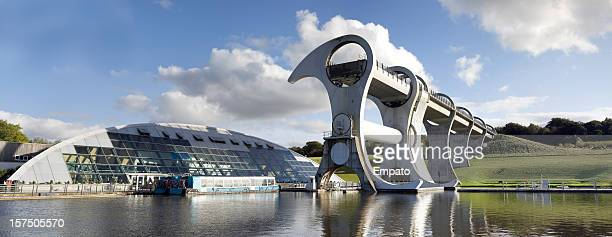 Falkirk Wheel and Visitor Centre.