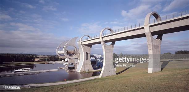 Falkirk Wheel Falkirk United Kingdom Architect Rmjm Falkirk Wheel View Of Aquaduct And Resevoir