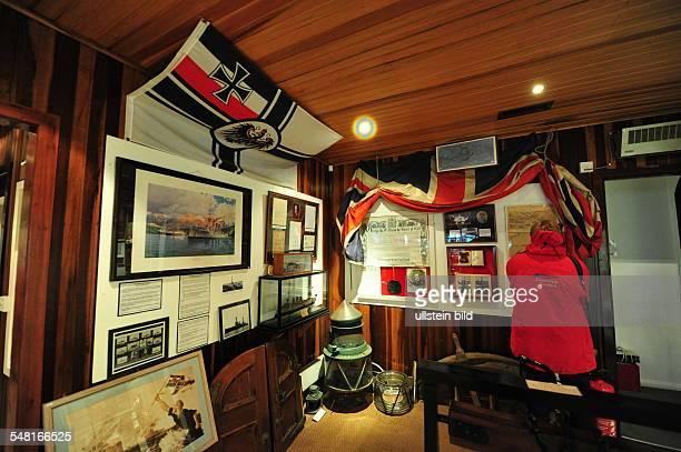 Falkland Islands East Falkland Island Port Stanley War museum
