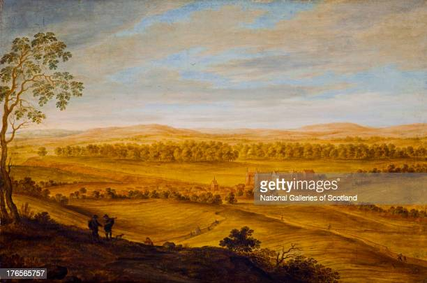 Falkland Palace and the Howe of Fife by Alexander Keirincx 1639 Oil on panel