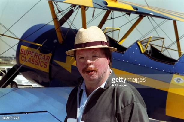 Falkland's hero Simon Weston went wingwalking at the air tattoo to raise money for his charity for young people Weston Spirit