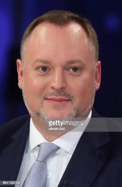 Falko Liecke in der ZDFTalkshow maybrit illner am in Berlin Auf verlorenem Posten Scheitert Merkel an Europa