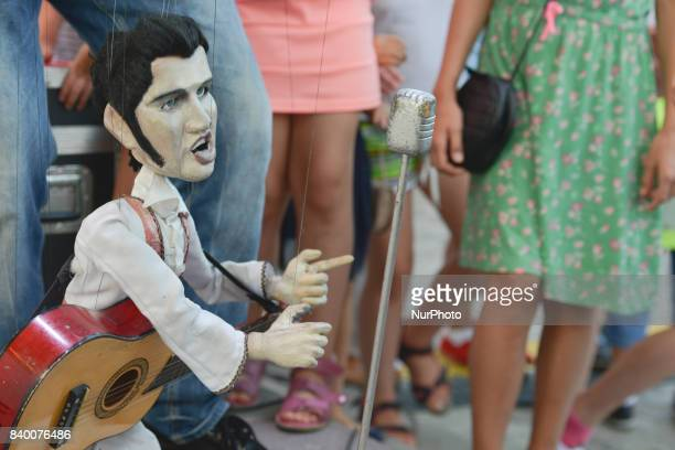 'Falko Show' with Elvis by Krzysztof Falkowski during the Tribute to Elvis festival with many events organised over the weekend took place in Rzeszow...